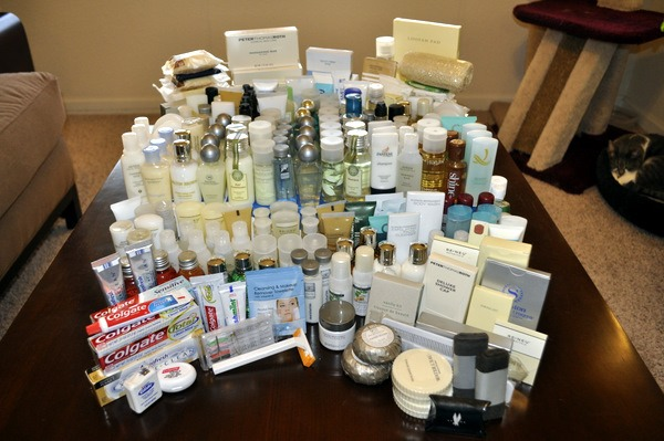 Have you started leaving hotel toiletries behind due to the ever-growing stockpile you just can't get rid of? Don't! The homeless, women and children in shelters and those affected my disasters can use them! Box them up and send them to those in need!