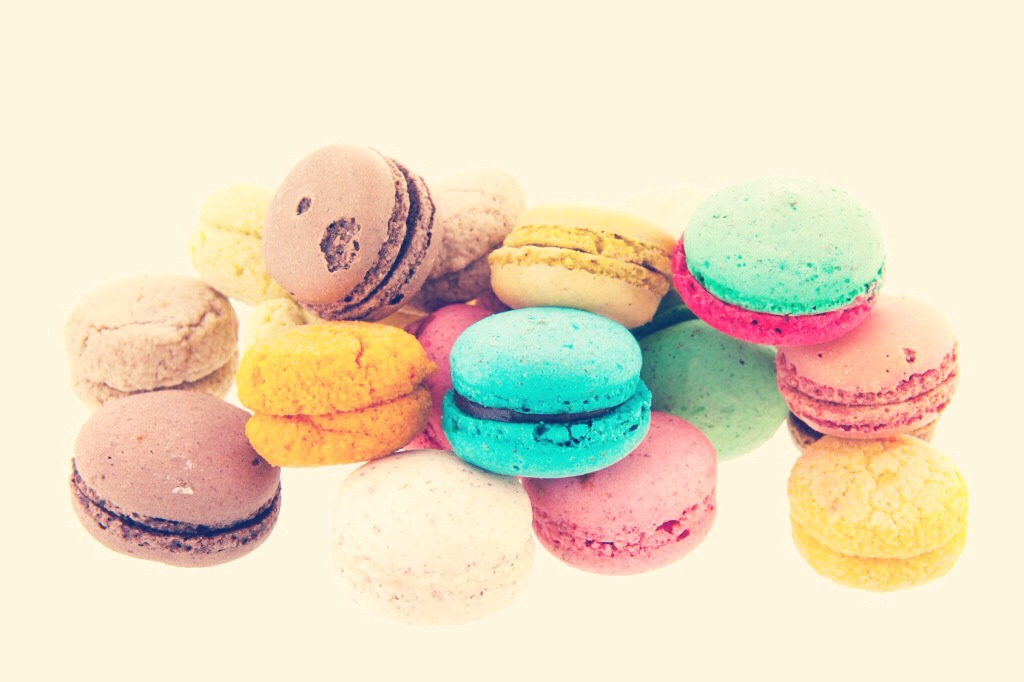Macaroons, you can't go wrong with these babies, they are delicious and easy to make