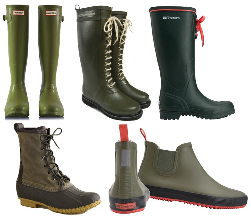 11) RAIN BOOTS!! You will need these if it rains. Rain=MUD!