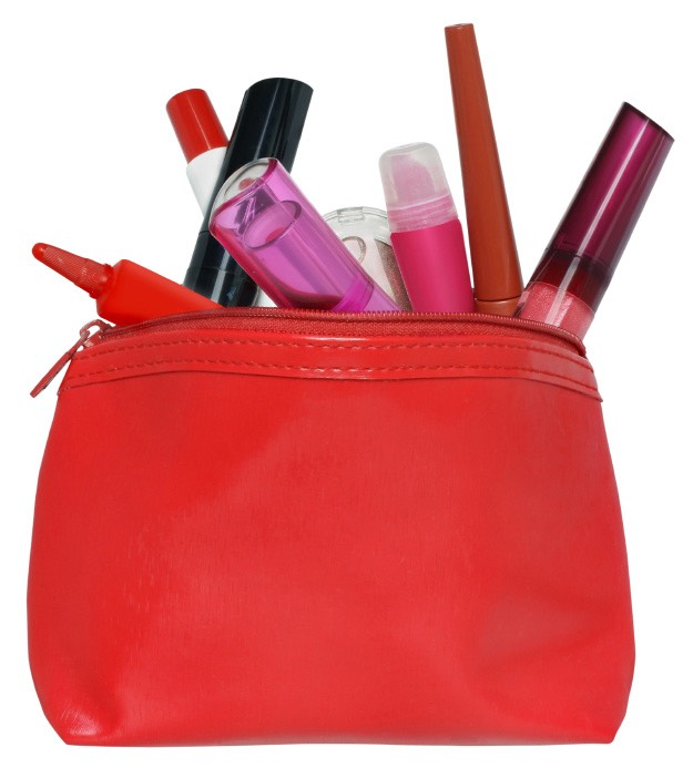 2. A makeup bag, perfect for any little touch ups.