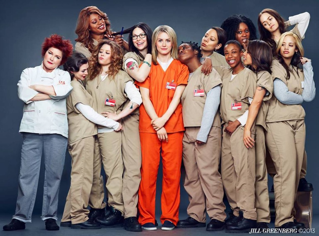 I'm beyond obsessed with 'Orange Is The New Black.' The show is found only on Netflix, and makes subscribing to Netflix worth it alone.