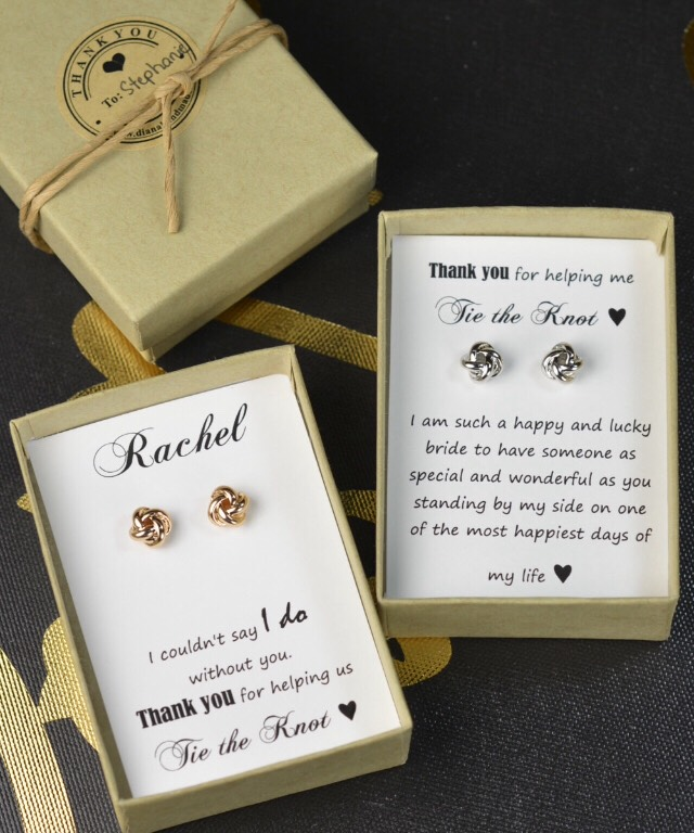 Earrings for bridal party