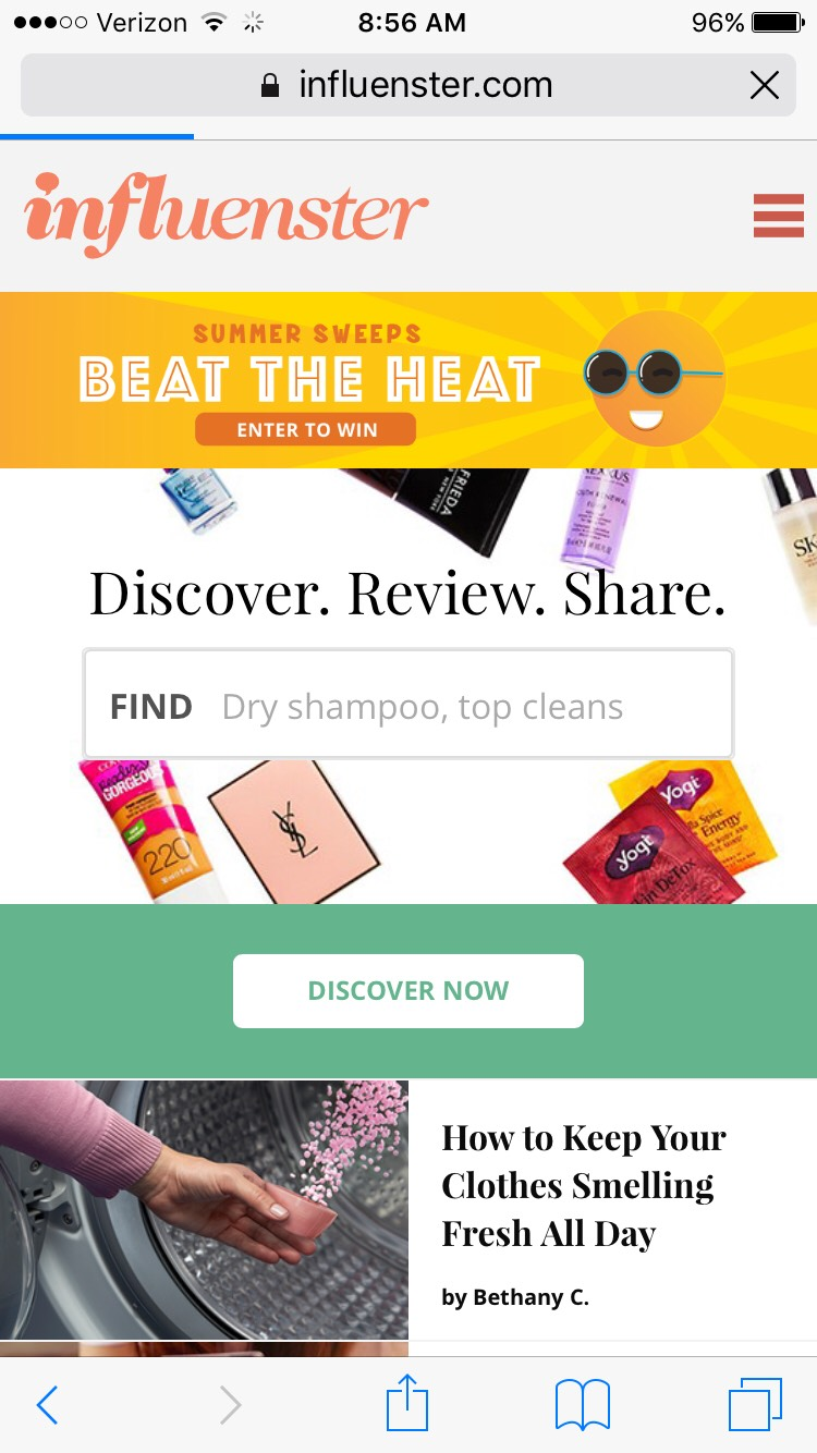 Awesome product review website!!