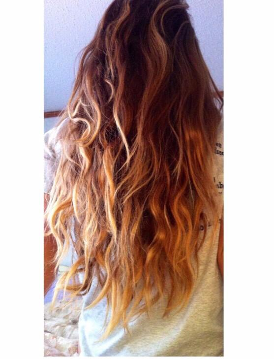 Braid your hair in multiple french braids at night and sleep in them for light natural beach waves with no heat!