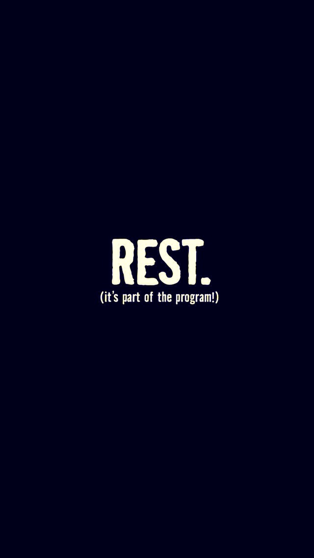 Take a rest and relax your body