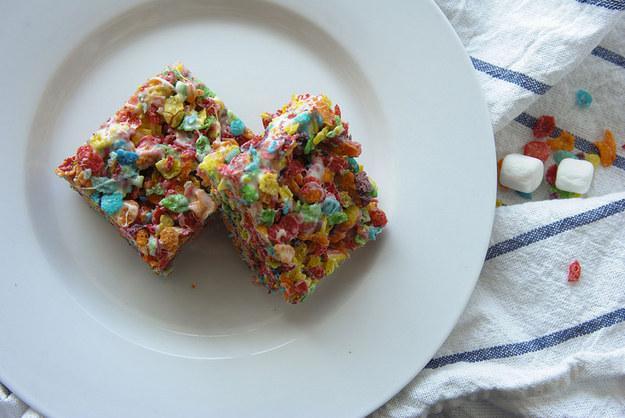 44. Fruity Pebbles Rice Krispie Treats  http://bu.spoonuniversity.com/cook/5-epic-takes-on-rice-krispie-treats/?utm_source=buzzfeed&utm_medium=referral&utm_campaign=content-partnerships