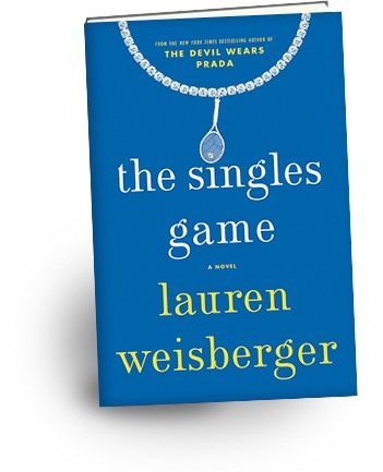 Author of The Devil Wears Prada tries her hand at tennis and it's love from this reader!