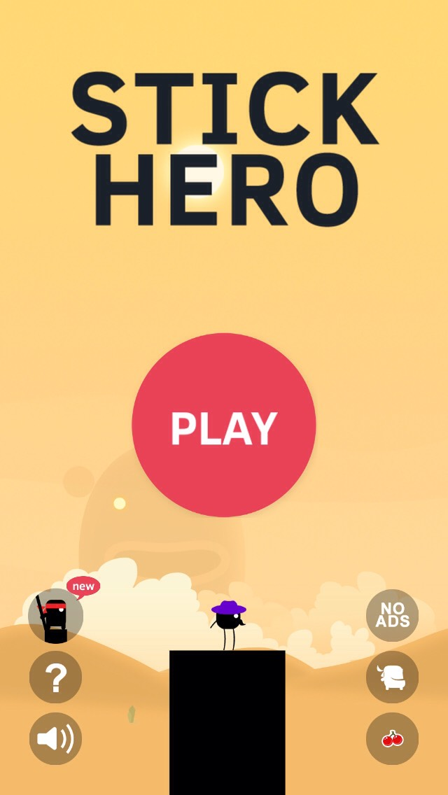 Stick hero it's so much fun and addicting please like and if you like my other tips like those to thx