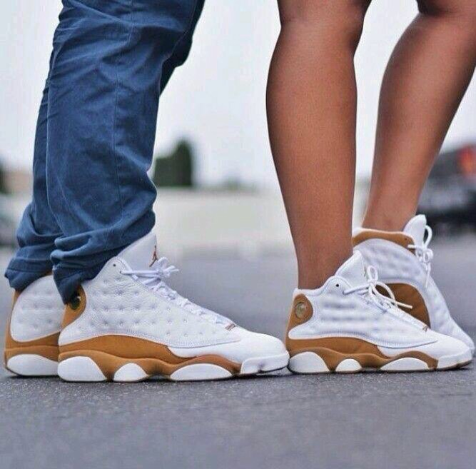Couples Wearing Matching Shoes