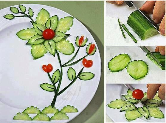 Salad Decoration Ideas Step By Step By Choz 44 Musely
