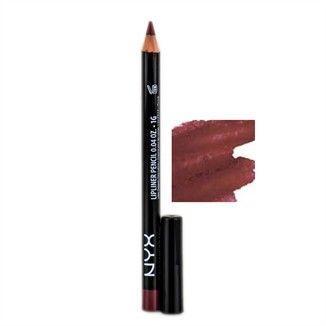 Marsala Beauty Products. NYX Slim Lip Liner Pencil - Mahogany