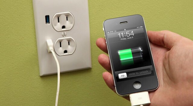 Use a wall charger instead of a car charger