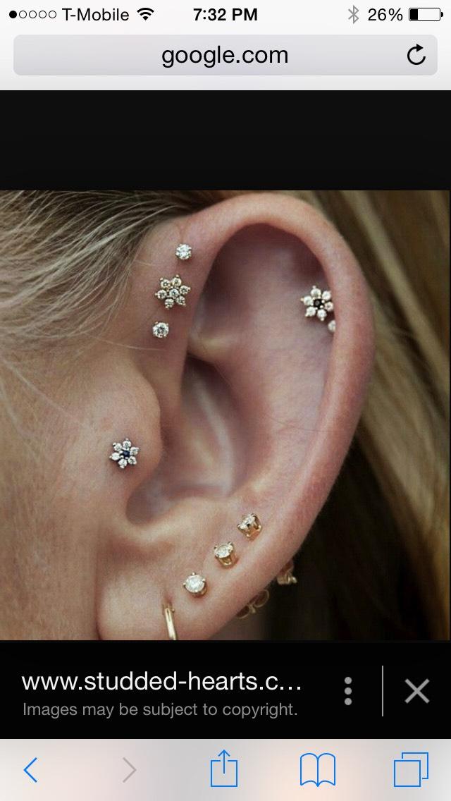 Any ear piercings