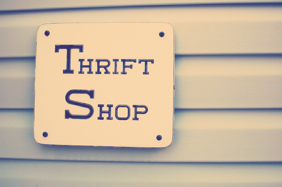 """A wise man once said """"Another man's trash is another mans treasure."""" Thrift shops are going to be your new best friend. Check out local ones, they have the best stuff."""