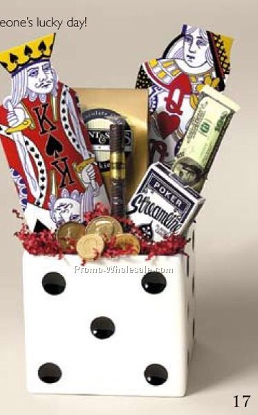 Casino gift basket