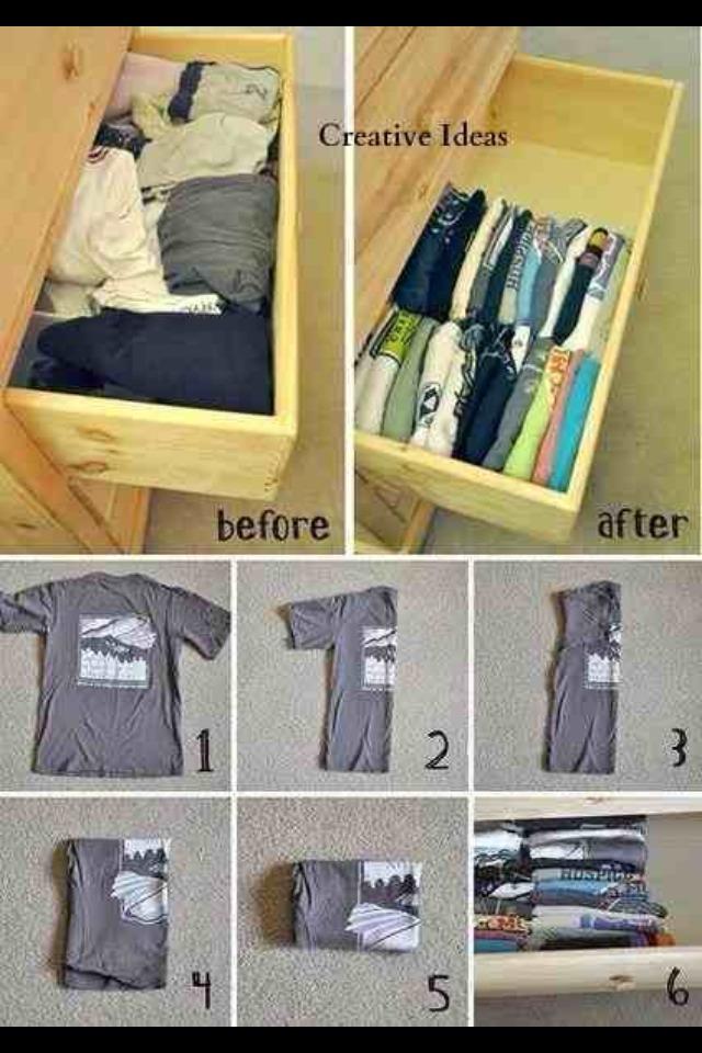 Как сложить носки в сумку