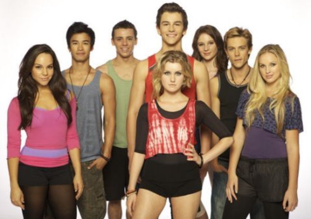 Dance Academy! It combines Australian accents, dancing, teenage romance, drama, and more into just 3 seasons of a wonderful show!