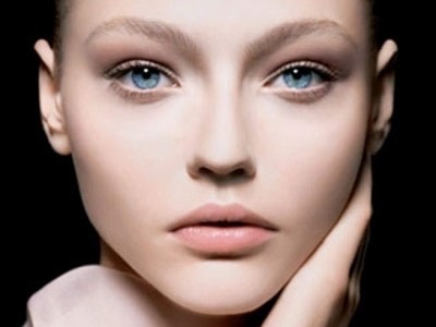 Put green tea bags over your eyes or put green tea lotion under your eyes.