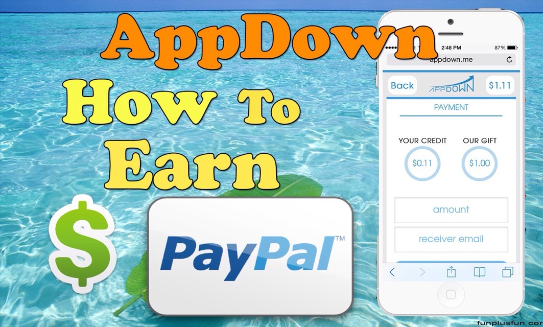 Earn PayPal Money DOWNLOADING APPS! Free & Fast! by Melissa