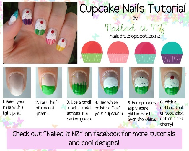 Cupcake nails Perfect for any time of the year!