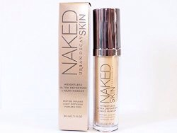 URBAN DECAY NAKED SKIN ULTRA DEFINITION LIQUID MAKEUP|I have tried many different foundations through the years + so far my favorite is this UD foundation. the coverage it provides isnot to light/not too heavy. Itlooks very natural. Just be sure to buy a shade that best matches your skin tone.