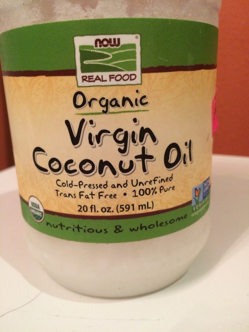 First you get some organic virgin coconut oil