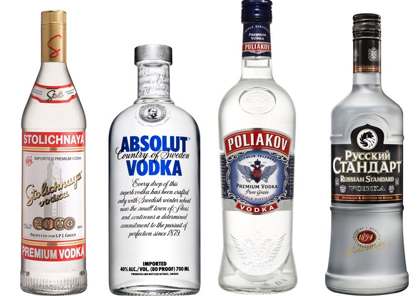 You can also use plain vodka. If you can handle the intense taste ( i can, but my friends complained) i personally don't care, i don't complain about jello shots. But flavored may be better for a party. Its better then taking straight vodka anyway, whats to complain about?