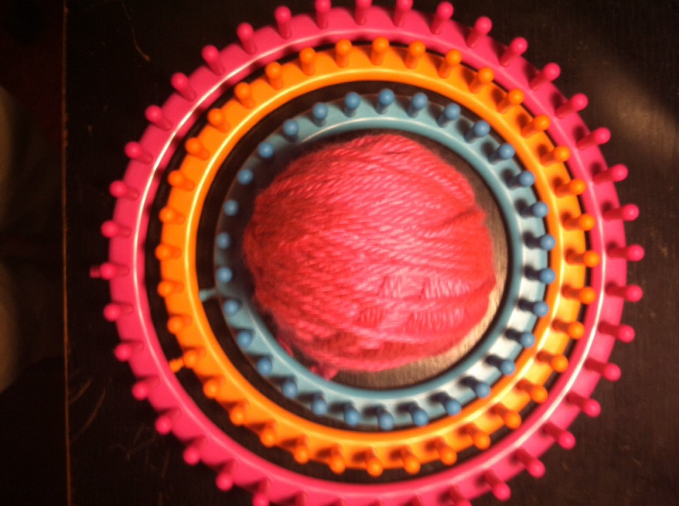 **Everything I use to knit I get at Walmart** -Circular Looms & Hook -Yarn (I prefer the fluffier kind)