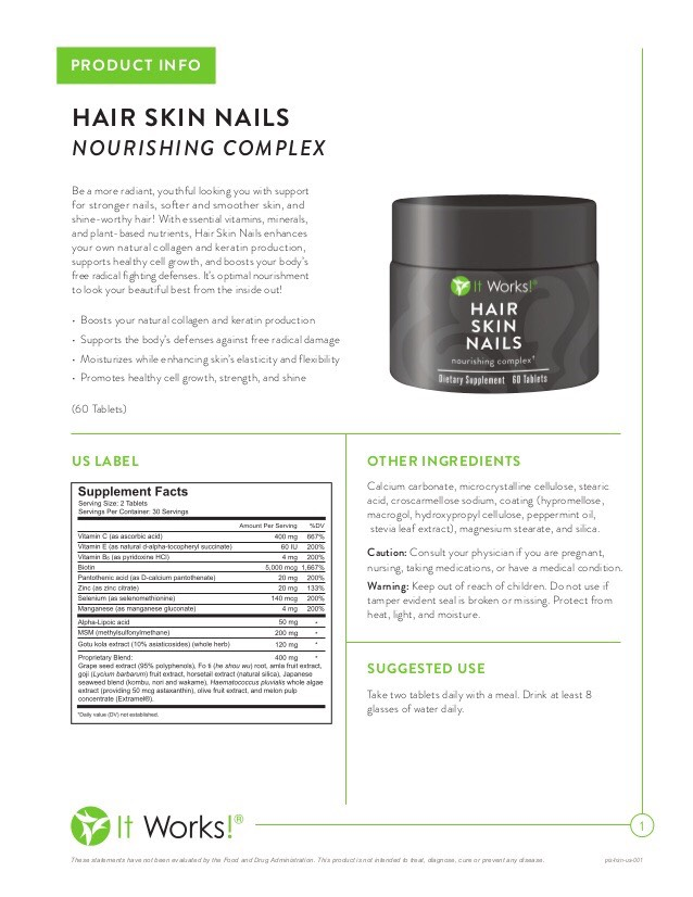 Let Hair Skin Nails restore your hair back to the what it used to be.