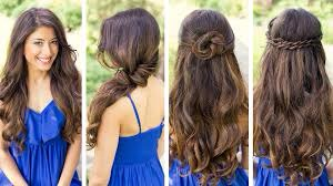 These are just some easy hairstyles that you could do if your going out and needs to be a little fancier than normal!