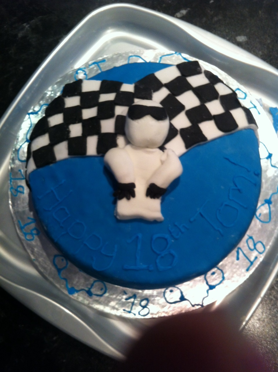 Say happy birthday with a stig cake