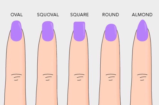 Know which kind of nail shape you want to have
