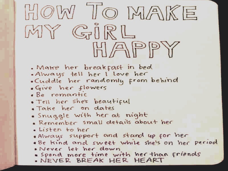 how to make your girlfriend very happy