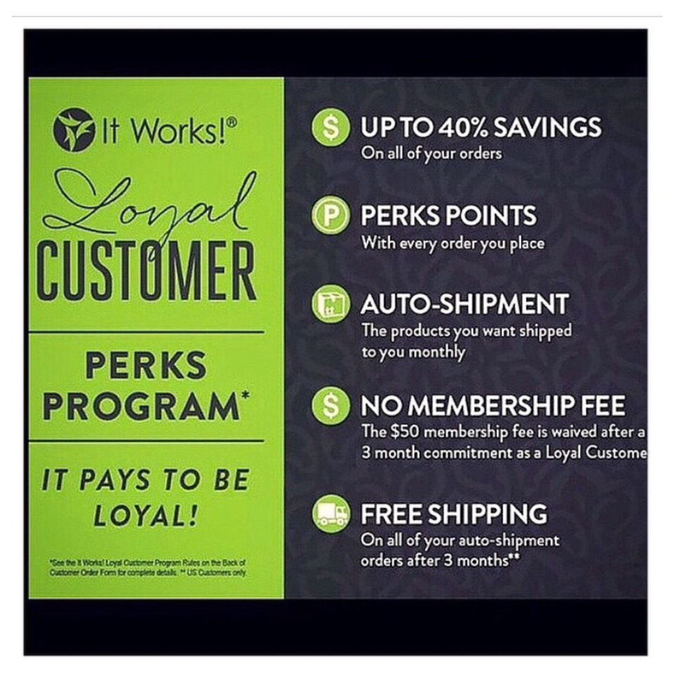 This is what a loyal customer is you place an order for 3 month of one product or more if you'd like! If you contact me to place the order I will send you a FREE wrap!