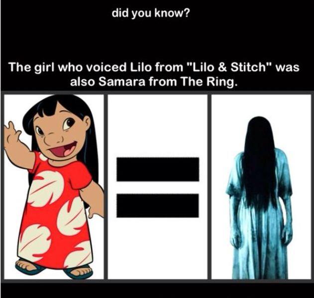 That's creepy lol