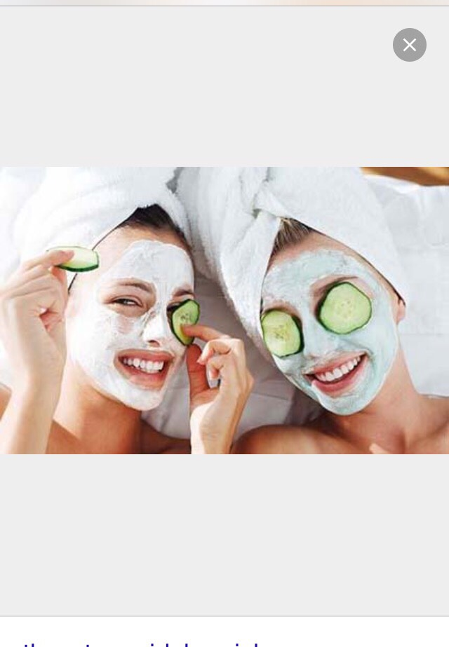 While you nails are drying put on your facials !!!!