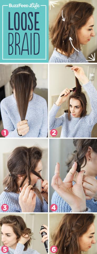 10. Loose Braid