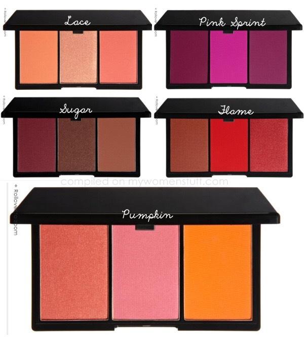 Blusher Palettes  Around £4.00-£9.99