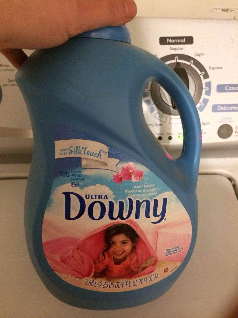 Wipe With Downy And Wait A Few Minutes