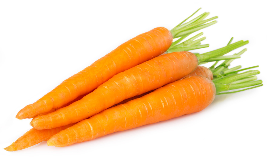 CARROTS are an excellent source of vitamin A and fibre. Munch on them raw, add them to salads, or steam them to break down the tough cell walls so your body can get more of the vitamin A content.