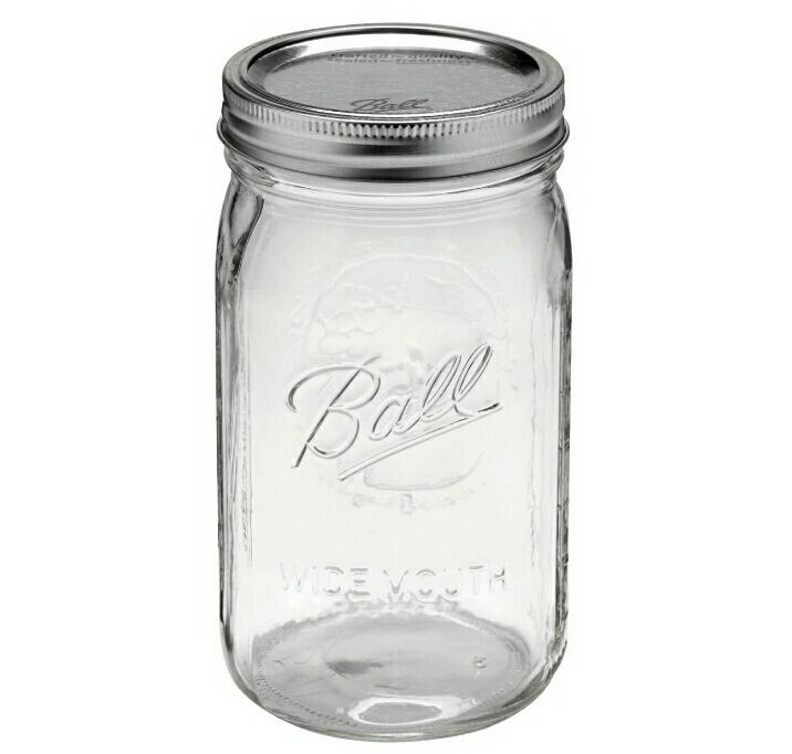 Get a mason jar to transform into a cool bored jar.