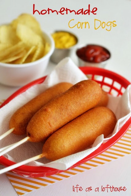 Homemade Corn Dogs Makes 10 Corn Dogs