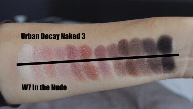 The best part is, you can buy the W7 nude eyeshadow palettes on Amazon for as low as 7$!