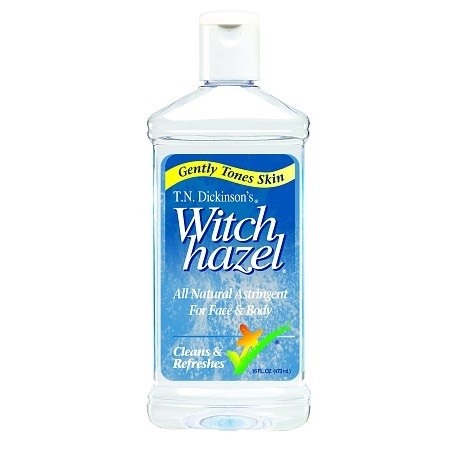 Witch Hazelis an awesome natural astringent which helps tighten theskin. It also helps with razor burn, bruises, and varicose veins, as well aslocking inmoisture!