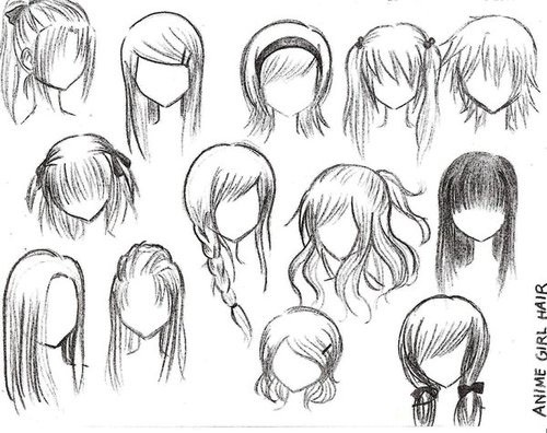 Here are some more hair ideas.