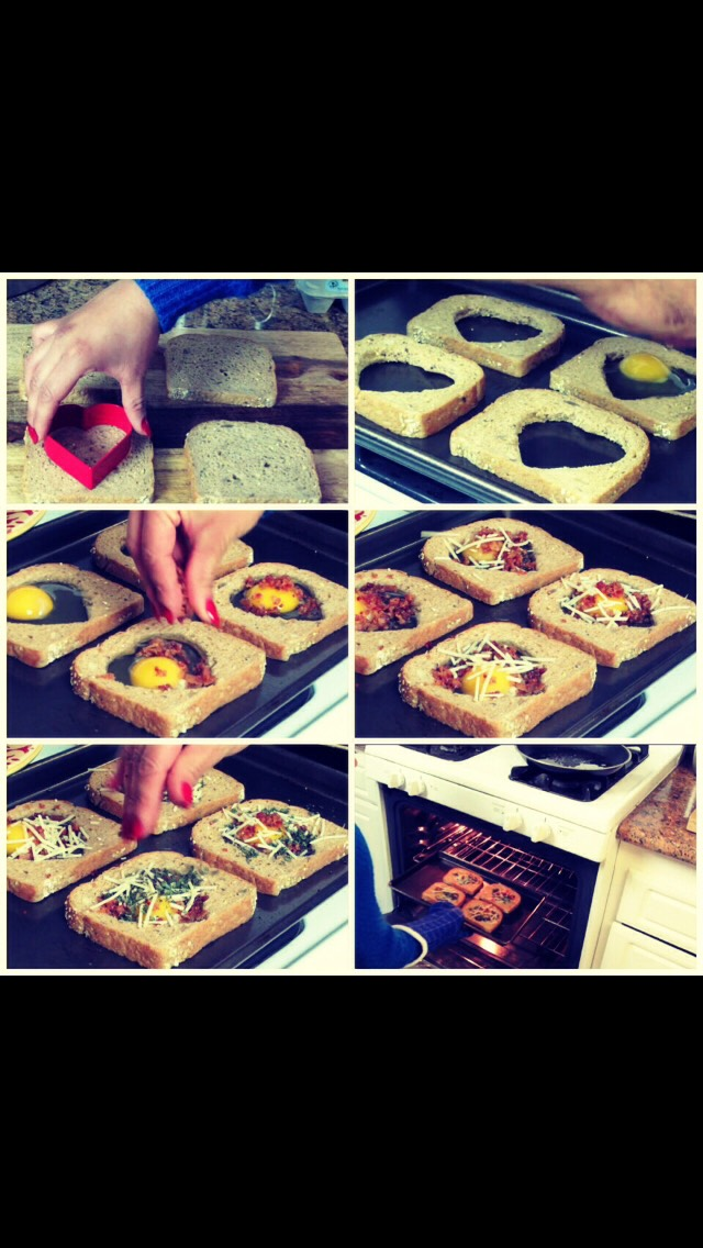 A healthier alternative to plain toast, plus it's got more nutrients, and is still portable!