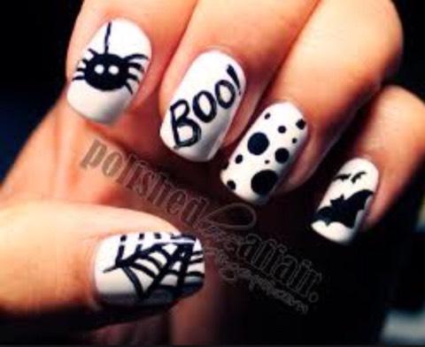 Boo nails👻💅