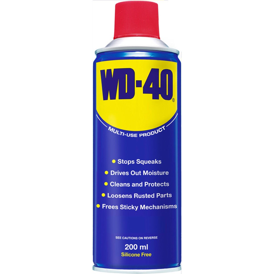 Wd40+stainless steel=😍 They were made for each other.  Just a small spray on some paper towel and wipe down your sinks and appliances,they'll shine like new.