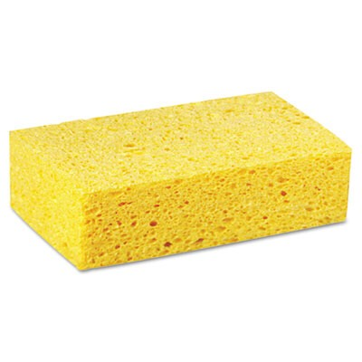 So simple all u do is cut your sponge i to any shape