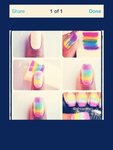 Rainbow nails 🌈💅